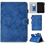 Cloth Texture PU Leather Tablet Stand Smart Rugged Holster Case Cover with Auto Sleep/Wake for IPad Mini 1st/2nd/3rd/4th Gen/5th Gen 2019 L&Y (Color : Blue)