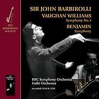 Vaughan Williams: Symphony No.4 Benjamin: Symphony