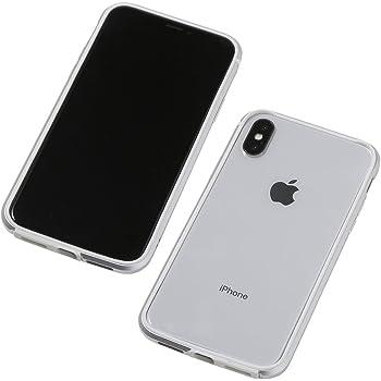 9e1d968ce6 Deff(ディーフ) Aluminum&TPU Lightweight Bumper AERO for iPhone X/XS パンパー iPhone  X/XS用 (シルバー)