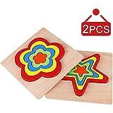 木製動物ジグソーパズル 幼児用 WoodenPuzzles02