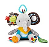 (エイチケーエイチ) HKH 今日からお友達 タイプ1 ベビー & キッズ 音が鳴る 人形 仕掛け 知育 遊具 子供 赤ちゃん おもちゃ ぬいぐるみ (ゾウさん)