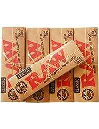 RAW ロー 手巻き用クラシックローリングペーパー10個セット 1 1/4サイズ シャグ 喫煙具