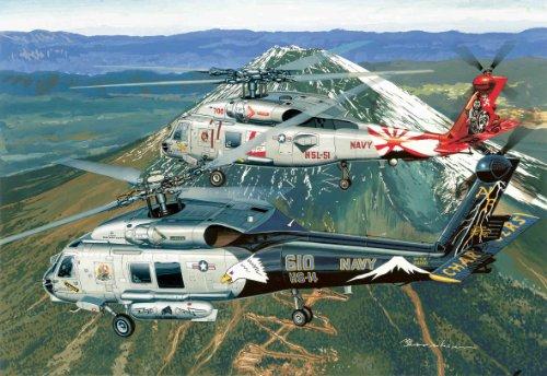 1/144 SH-60F HS-14 「チャージャーズ」 & SH-60B HSL-51 「ウォーローズ」