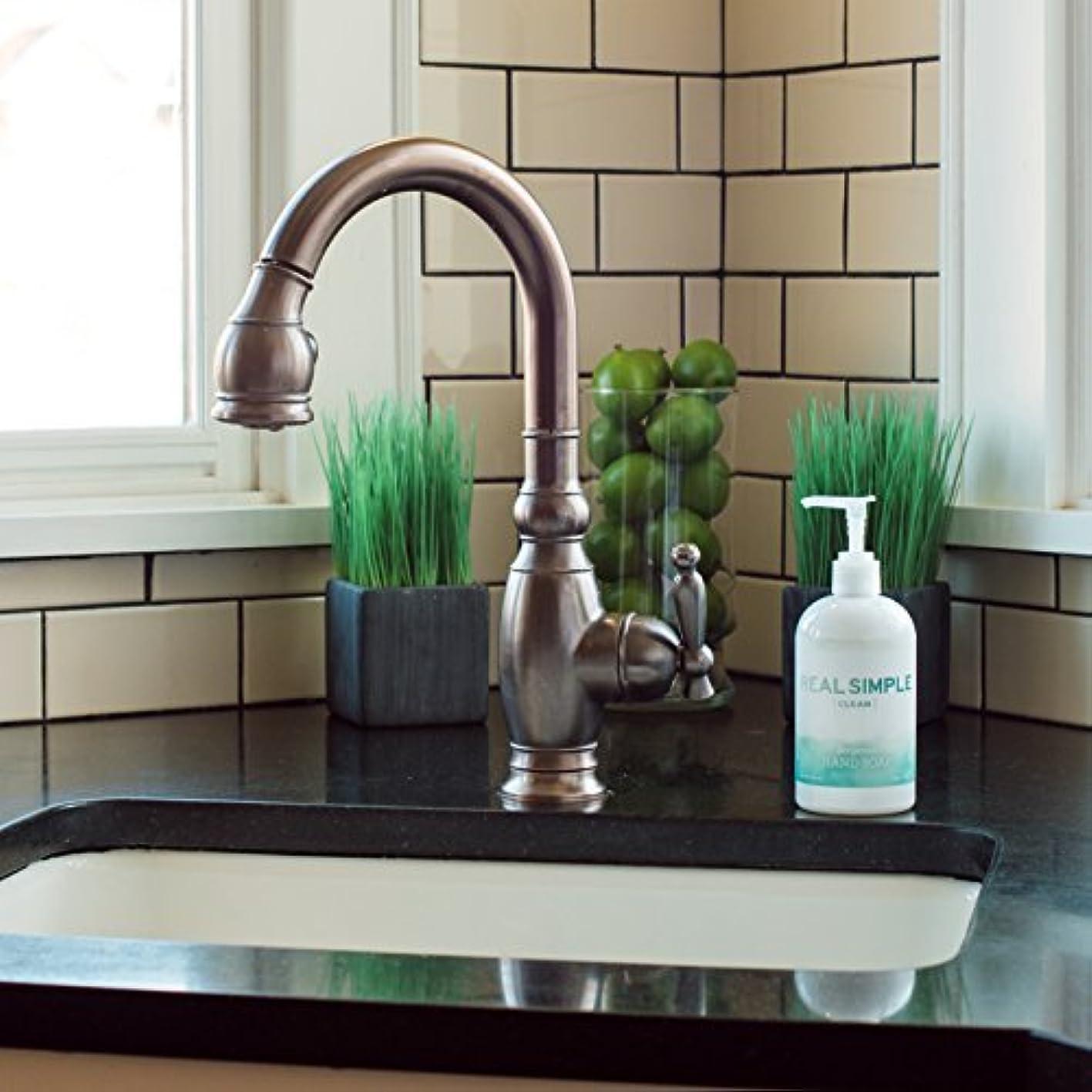安心メタリックアンプReal Simple Clean Hand Soap