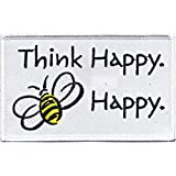Application Animals Bumblebee Think Happy Patch [並行輸入品]