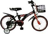 C.Dream(シードリーム) シルバーフォックスキッズ SF61 16インチ 幼児自転車 ブラック 100%組立済み発送