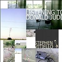 Listening to Donald Judd