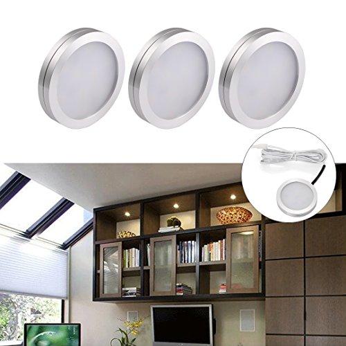B-right LEDキャビネットライト 円形 均一発光 3...