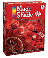BePuzzled 750pc Puzzles - Made in the Shade - Red by University Games