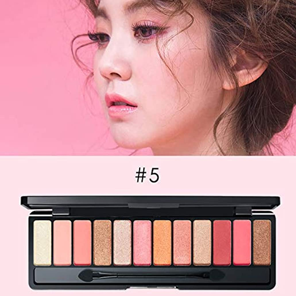 Symboat 12色マットアイシャドウ アイシャドウ パレット マット アイシャドウ 化粧パレット 高発色 人気 韓国風 自然立体 携帯便利 長持ち 極め細かい