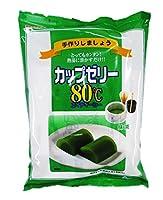 かんてんぱぱ カップゼリーエイティーシー 抹茶 500g(6人分×5袋)