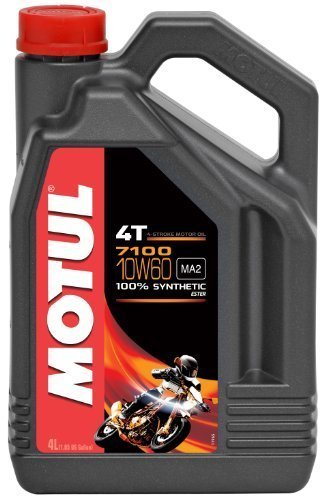 MOTUL 7100 4T Synthetic Ester Motor Oil - 10W60 - 4L. 102191 by Motul [並行輸入品]