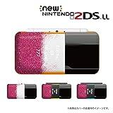 New ニンテンドー 2DS LL 対応 カバー ケース 香水 perfume ピンク色 ブラックキャップ
