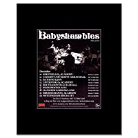 BABYSHAMBLES - UK Tour 2009 Mini Poster - 13.5x10cm