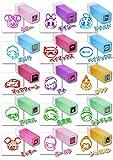 (ディズニー)Disney ディズニー オールスター プチ スタンプ 15種各1個ずつ 計15個 セット