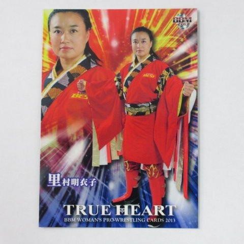 [해외]BBM2013 여자 프로 레슬링 카드 | TRUE HEART ■ 레귤러 카드 ■ 039 | 사토 무라 메이코/BBM 2013 Women`s Professional Wrestling Card | TRUE HEART ■ Regular Card ■ 039 | Ariko Satomura