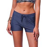 NEW Womens Swimwear Sexy Brief Board Shorts Bikini Bottom Hipster Tankini Swimsuit Beachwear