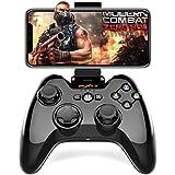 Bluetooth iPhoneコントローラーPXN 専属無料APPあり Apple認証 IOS MFi ゲームパッド iPhone, iPad, iPod touchに対応 PUBGに非対応(黒)