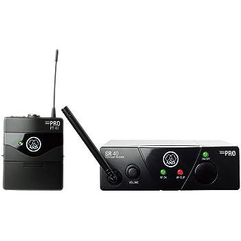 AKG 1チャンネルB帯ワイヤレスシステム WMS40 PRO MINI INSTRUMENTAL SET(JP2) 【国内正規品】
