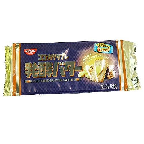 日清シスコ ココナッツサブレ 発酵バター 5枚×4パック(12個入)