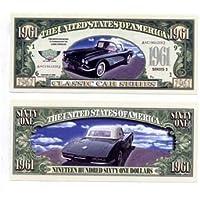 Set of 5 Bills-61 Corvette by Novelties Wholesale [並行輸入品]