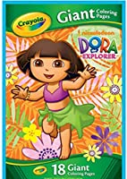 Crayola Dora The Explorer Giant Coloring Pages by Crayola