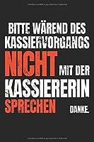 Bitte nicht mit der Kassierin Sprachen: Kassiererin Verkaeuferin Einzelhandel Geschenk - Notizbuch - 6x9 Zoll - Karriert - 120 Seiten