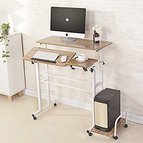 スタンディングデスク スタンドデスク PCデスク 昇降式 デスク パソコンデスク 幅700*奥行460*高さ700~1300mm調節 上下昇降 一年保証