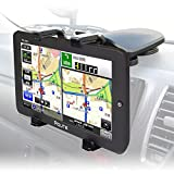 ポータブルナビ カーナビ 9インチ ナビゲーション GPS センター設置 車載ホルダー付 2017年地図 3年間地図更新無料 ワンセグ TV オービス警告 外部入力 RCA バックモニター microSD メディア再生 Bluetooth NV-A010-SET1