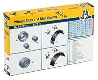イタレリ 3870 1/24 Wheels Rims&Mud Guards