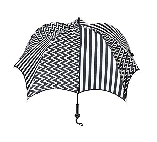 ディチェザレ デザイン パンプキンブレラ ウォーカー 全4柄 長傘 手開き ジギー 10本骨 52-64cm グラスファイバー骨