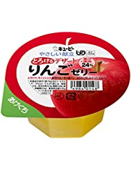 キユーピー やさしい献立 とろけるデザート りんごゼリー 区分3 舌でつぶせる 70g×6個