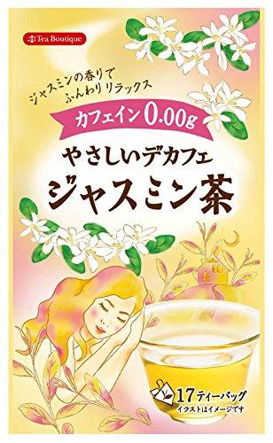 ティーブティック やさしいデカフェジャスミン茶 1.3g×17TB