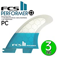 FCS2 フィン パフォーマー PERFORMER PC TRI FIN S M L / エフシーエス2 トライフィン ショートボード サーフボード サーフィン 2017 L