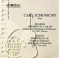 Brahms: Symphony No.3 Op.90 / Hydn: Sinfonia No.86