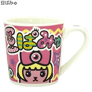豆しば×きゃりーぱみゅぱみゅ=《豆しぱみゅぱみゅ》陶器製マグカップ☆キャラクターグッズ通販☆【豆ぱみゅ】