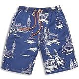 GAILANG(ガイラング) 水着 メンズ 海水パンツ サーフパンツ 短パン g5-ms01 ネイビー L