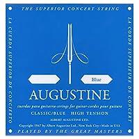 AUGUSTINE オーガスチン クラシックギター弦 ブルー4弦 BLUE 4th