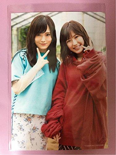 タワレコ AKB48 11月のアンクレット 店舗特典 生写真 山本彩 渡辺麻友 タワーレコード