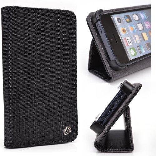 Black Smartphone Stand Case fits Pantech Pocket mobile おもちゃ (並行輸入)