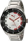 PUMA 時計 Puma QuartzステンレススチールAutomatic Watch , Color : silver-toned (モデル: pu103951004)