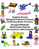 English-somali Bilingual Children's Picture Dictionary Book of Colors (Freebilingualbooks.Com)