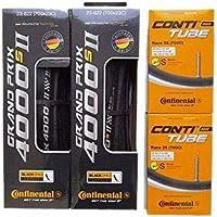 タイヤとチューブ2本セット Continental(コンチネンタル) GRAND PRIX 4000 S II グランプリ4000S2 [並行輸入品]