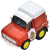 チョロQ Z45b ルノー4 フルゴネット サービスカー (橙)