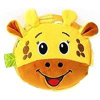 HuaQingPiJu-JP 赤ちゃんラブリーキリンソフトハンドラトルベルキッズファニークロールベルボールおもちゃギフト