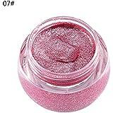 アイシャドウ 単色 化粧品 光沢 保湿 キラキラ 美しい タイプ 07