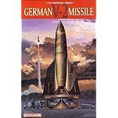プラモデル 1/35 ドイツ A-4 ロケット 試作型発射台付