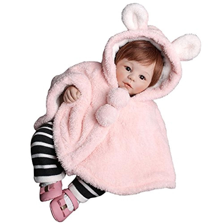 ベビー マント ケープ ポンチョ 子供 キッズ 防寒 フード付き 着ぐるみ カワイイ 耳付き 出産祝い お誕生日 プレゼント 可愛い 男の子 女の子 ピンク 80