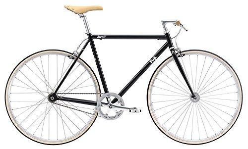 FUJI(フジ) STROLL 56cm シングル BLACK クロスバイク 2018年モデル 18STRLBK BLACK 56cm