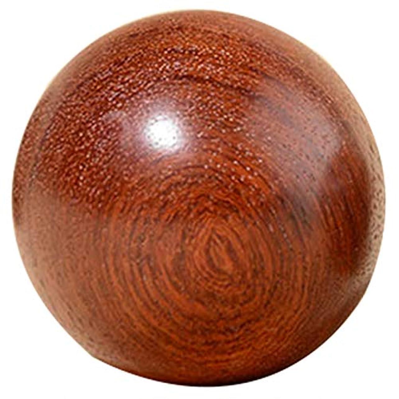 山積みの温度神経TOOGOO 6Cm 木製圧力Baodingボール、健康運動用ハンドボール、指のマッサージ、中国健康瞑想リラクゼーション療法